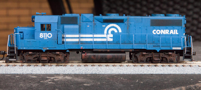 Conrail 8110 Gp38 2 In Ho J Alex Lang