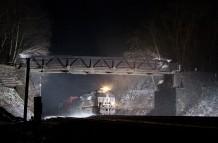 Snowy Evening at Cassandra