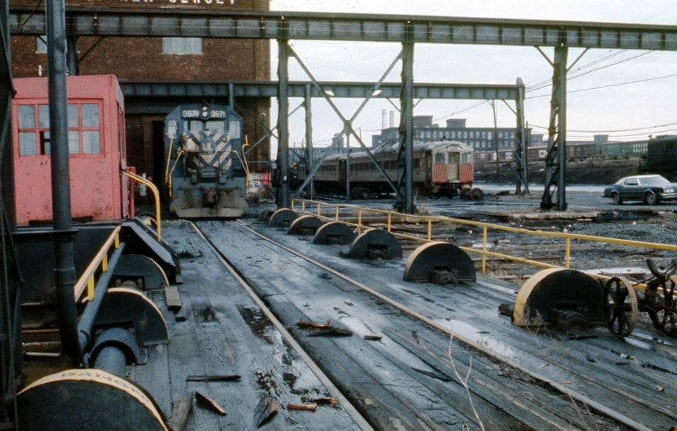 CNJ Elizabethport Shops, 1976