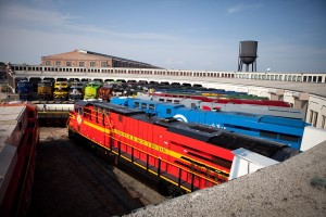 Norfolk Southern Heritage Locomotives - July 2, 2012