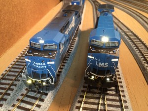 Conrail 6150 and LMS 703