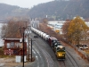Erie Heritage unit NS 1068 SD70ACe leads Z4R crude oil train bound for Reybold, De at CP-ETNA