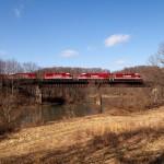 RJ Corman RBS Coal Shuttle, Mahaffey, Pa. Feb 3, 2012