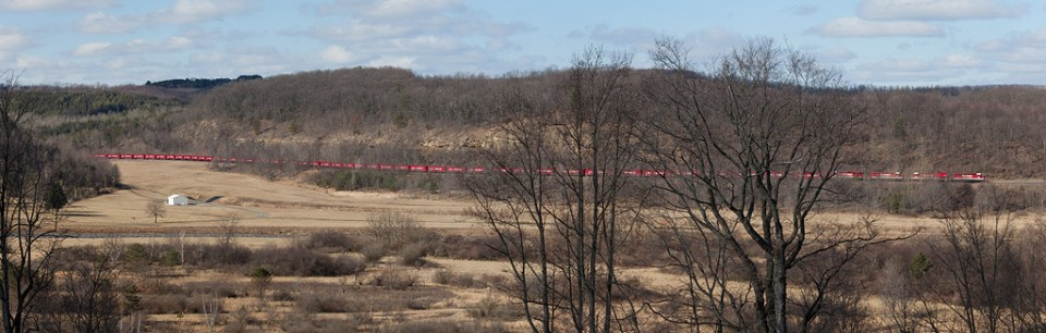 RJ Corman RBS Coal Shuttle, Curwensville, Pa. Feb 3, 2012