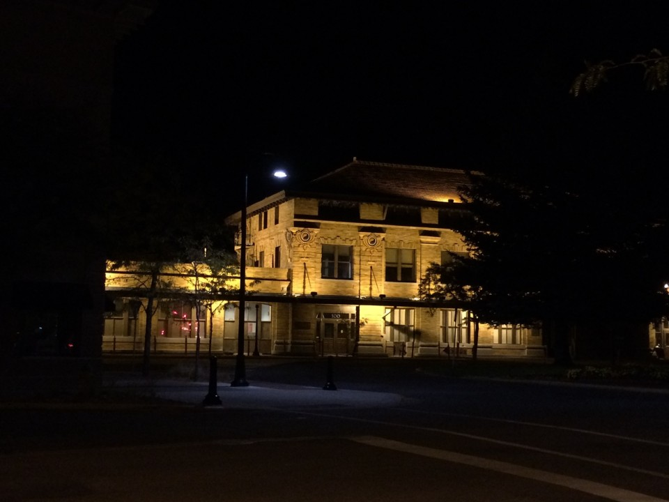 On the last night of our trip, Dave and I enjoyed a few beers near the hotel, and on the walk back we had a look at the NP station in Missoula.  The next morning we were on our flights home, tired and fulfilled.